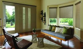 sliding panels roller shades roman shades natural shades