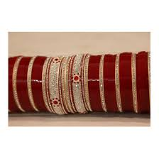 indian wedding chura punjabi bridal chura bangles with 4 kadas price 3 400inr