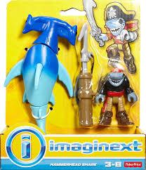 imaginext hammerhead shark playset toys