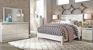 dreamur panel bedroom set signature design furniture cart