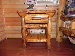 furniture rustic log tree stump end tables unfinished ideas