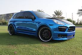 porsche chrome blue chrome porsche cayenne foilacar