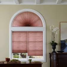 Light Pink Blinds Signature Light Filtering Cellular Arch Blinds Com
