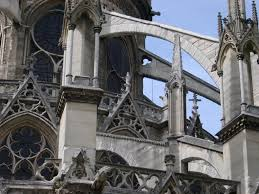 free stock photo of notre dame cathedral architectural detail
