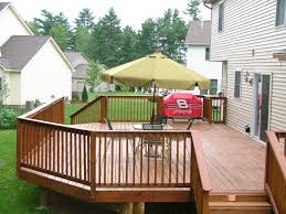 Longest Lasting Cedar Deck Stain by Vinyl Decking Provides The Beauty Of A Wood Deck With The Long