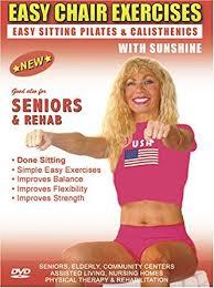 Armchair Aerobics For Elderly Amazon Com Seniors Exercise Dvd Senior Elderly Sitting