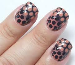 nail art tutorial ombre polka dot nails nail it