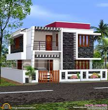 flat roof modern house curved flat roof designs kerala house plan home design bloglovinu