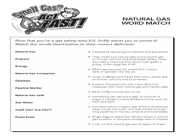 natural gas word match 3rd 5th grade worksheet lesson planet