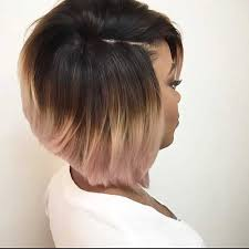 stacked haircuts for black women short bob haircut colored african american at 40 5 short bob