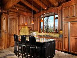 Cabin Kitchen Designs Counter Top For Log Cabin Kitchen Home Design And Decor Kitchen