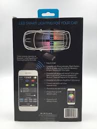 app controlled car lights type s app controlled led 24 interior smart lighting kit new light