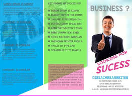 brochure templates for school project 40 professional free tri fold brochure templates word psd