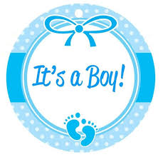 baby boy baby shower baby shower favor tags w border baby boy girl ships in 24 hrs