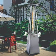 patio flame heater alva designer glass patio heater gas extreme