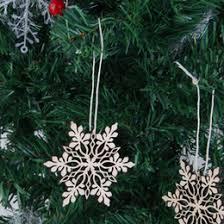 white snowflake tree ornaments australia new featured white