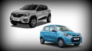 Comfort Design Budget Car Comparison Kwid Takes On The Alto