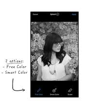how to use the color splash effect in preview app tutorial