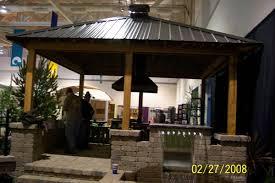 outdoor kitchen roof ideas tin roof outdoor kitchens metal roof pavilon pergola