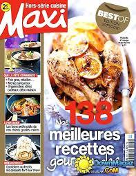 abonnement magazine de cuisine magazine maxi cuisine maxi hors sacrie cuisine novembre daccembre