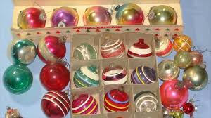 vintage 1950s christmas decorations youtube