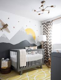 Modern Nursery Curtains Modern Baby Stores With Modern Crib Nursery Transitional And