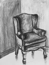 Chair Jpg Rocking Chair Drawing Charcoal Shadowing Techniques Example Craft Ideas Pinterest