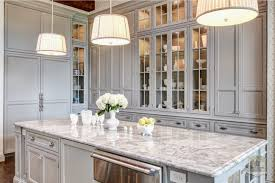 traditional kitchen in soft gray interiors by color