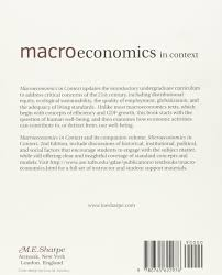 macroeconomics in context amazon co uk neva goodwin julie