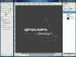 gimp design gimp tutorial logo design
