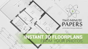 instant 3d floorplans from your photos two minute papers 142