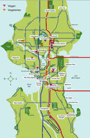 Map Of Washington Coast by 8 Best Seattle Maps Images On Pinterest Seattle Seattle