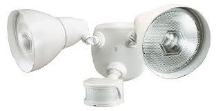 heath zenith sl 5718 wh c 270 degree motion sensing security light white motion sensor lighting com