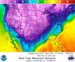 november 2014 american cold wave