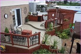 Backyard Decks And Patios Ideas Captivating Small Backyard Decks Patios For Home Interior Design