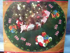 tree skirt crewel embroidery kits ebay