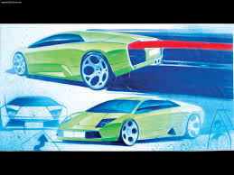 lamborghini sketch lamborghini murcielago sketch 2002 picture 17 of 18
