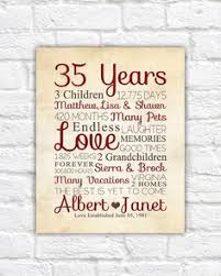 anniversary gifts for parents 20th anniversary gift 20 year wedding anniversary anniversary gift