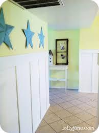 wall decor with tin stars