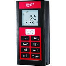 Mtr To Ft by Milwaukee 200 Ft Laser Distance Digital Meter 2281 20 The Home