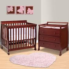 mini cribs with changing table piece u2014 dropittome table mini