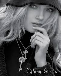 key pendant necklace tiffany images Key fashion history jpg