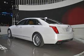 New Cadillac Elmiraj Price 2016 Cadillac Ct6 Leaked Ahead Of Nyias Debut Autoevolution