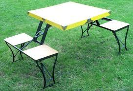 Costco Plastic Table Foldable Picnic Table Costco Alpine Design Folding With Umbrella