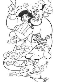 disney aladdin coloring pages cartoon coloring pages of