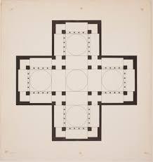 ground plan of the main church u2014 dumbarton oaks