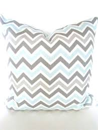 blue and gray sofa pillows blue grey pillows chevron throw pillow covers decorative baby gray