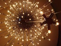 18 Light Starburst Chandelier Visiting The Palm Springs Desert Museum Modern Design By