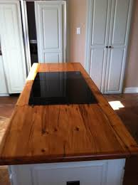 countertops awesome reclaimed wood island countertop kitchen