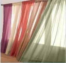 Curtains 95 Gray Sheer Curtains Ebay